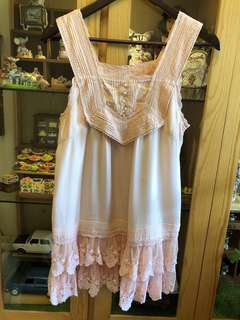 franche lippee lace top