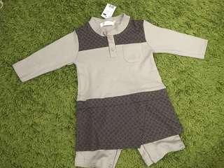 Baju Melayu Rompers (12-18mths)