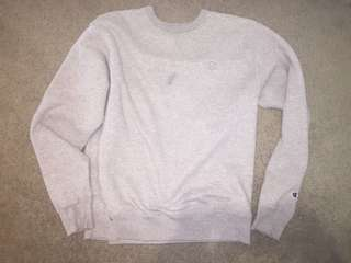 Champion grey crew neck