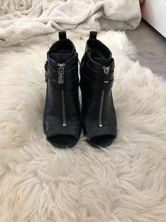 MK heeled booties