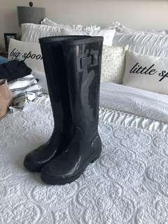 Browns brand black rainboots