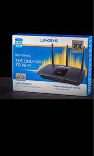 Brand New Linksys Max-Stream EA7500 AC1900+ wireless router for sale