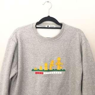 Korean LEGO sweater