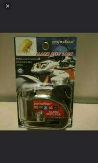 Motorcycle, Escooter Disc Brake lock Clamp N Alarm $49 w free delivery.