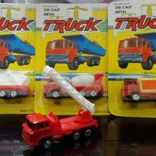 日野HINO垃圾車消防車,混凝土車及汽水車一套