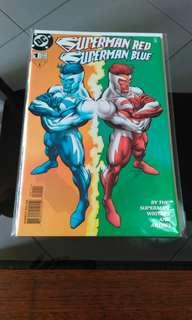 DC 1998 Superman Red Superman Blue. #01 comic.