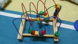 IKEA education Toys Roller coaster bead