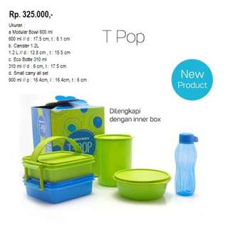 T pop tupperware