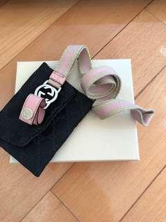 Gucci pink 電話繩