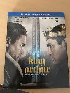 King Arthur blu ray