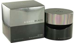 Parfum aigner black for men original 100 % box + segel
