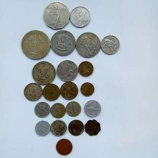 Old Peso Coin 1 set
