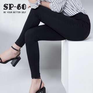 正品SP-68魔術褲 V3春季薄款 彈力小黑褲 窄管褲