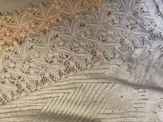 韓國lace top x 2