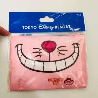 Tokyo Disneyland DisneySea Disney resort Cheshire Cat hygiene mouth mask
