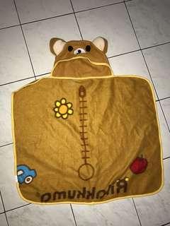 handuk selimut rilakuma