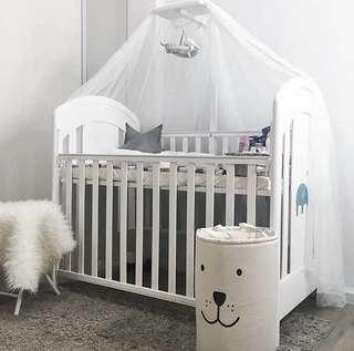 Baby Box + 2 set Bumper + Matras Latex + Kelambu