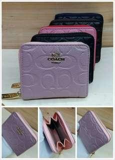Readystock💯 Wallet hermes & coach Small zip Gred A Ada colour macam dalam gambar