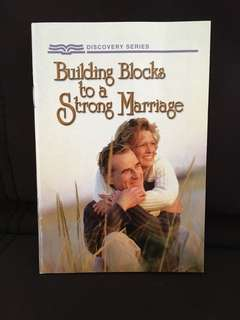 #Blessings Building Blocks to a Strong Marriage