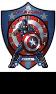 Jam karakter captain America
