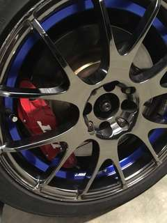 "Mitsubishi Colt Version R JBT BBK & 17"" Wheels with Tyres"