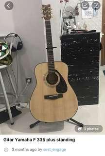 REPRICE gitar yamaha BONUS standing