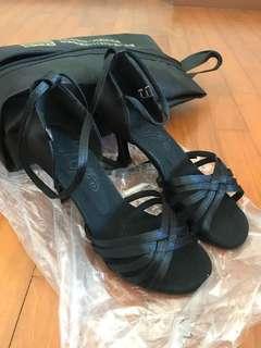 DanceSport Latin Black Heels
