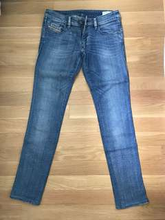 Diesel Blue LHELA stretch denim jeans