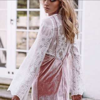SABOSKIRT Lace Top
