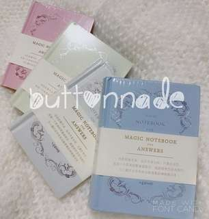 Magic Notebook for Answers Pink Yellow Blue White