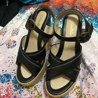 Charles and Keith and Carmelletes wedge both