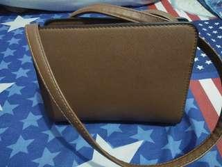 Brown Stradivarius Bag