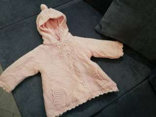 Baby Pink Winter Jacket