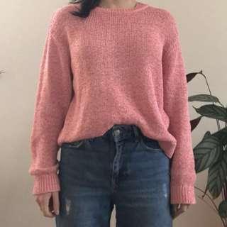 COS pink jumper