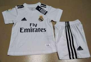 18/19 Real Madrid Kids jersey