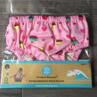 Charlie Banana Swim Diaper for Girls in L