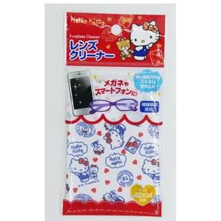 Hello Kitty 眼鏡布SIZE = w12 x h14 CM  20元包郵