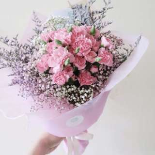 Fresh Flower Bouquet / Carnations Bouquet
