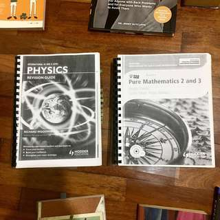 A Level Books - Physics, Maths