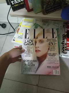 ELLE MAG. FT. LADY GAGA