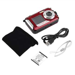 Digital Camera 24MP - Dual Screen - Waterproof