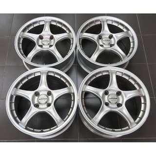 "ADVAN RC 17"" inch 7j off 45 4H 114 Original JAPAN"