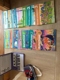 Yamaha music wonderland course books piano