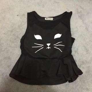 Kitty Top Size Medium