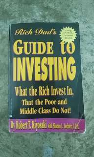 Robert T Kiyosaki Guide to Investing