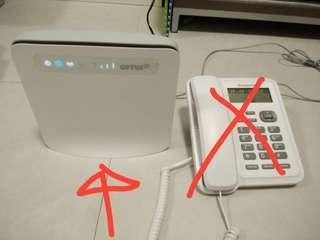 華為 插卡 4G LTE CPE Router 路由器 E-5186S-61A 支持 bridge mode 超新淨