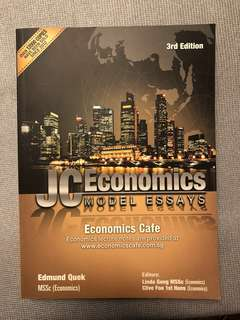 JC Economics Cafe Model Essays