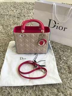 Dior Lady Multicolour Medium Size