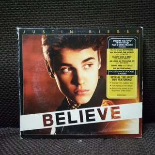 Justin Bieber CD Believe