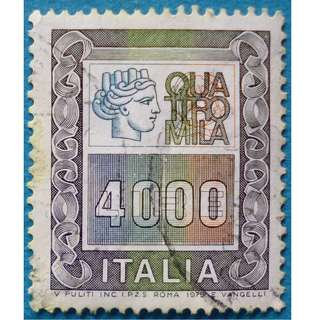 Stamp Italy 1979 Definitives 4000 Lire